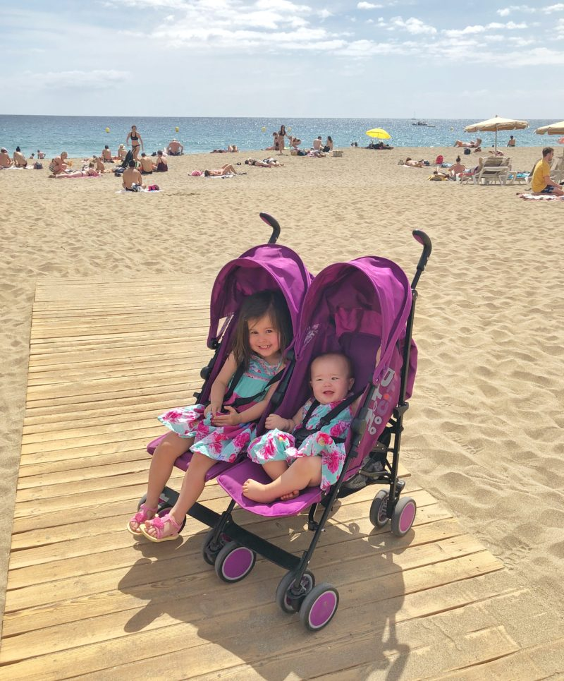 zeta city twin stroller double buggy review