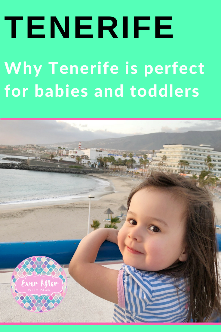 tenerife with kids pin