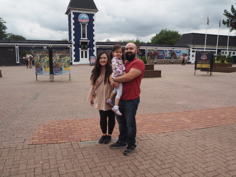 alton towers family visit