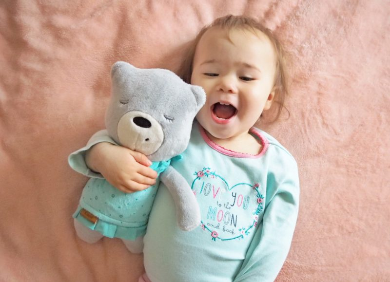 myhummy bear sleeping aid white noise baby