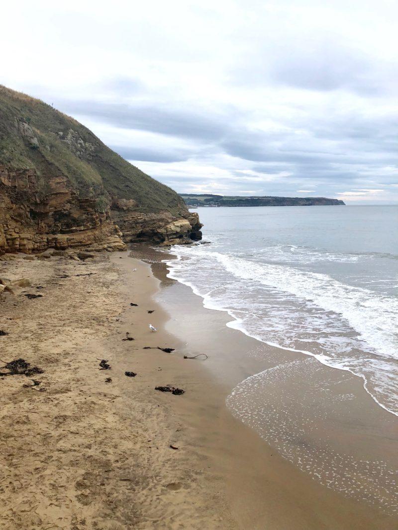 whitby beach coast