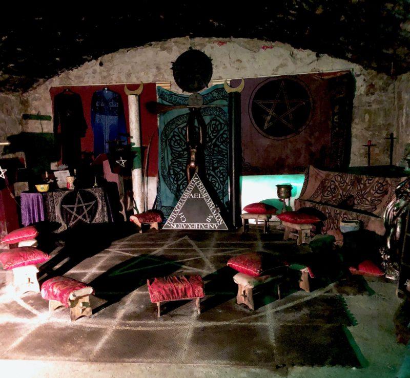 edinburgh haunted vault coven witches
