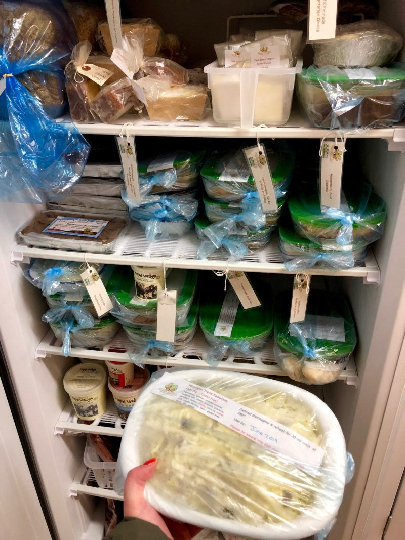 wheeldon trees farm homemade meals freezer