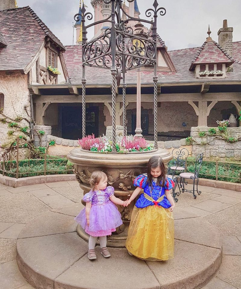 disneyland paris with toddlers princess
