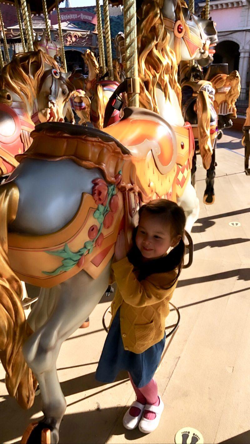 disneyland paris with toddlers carousel