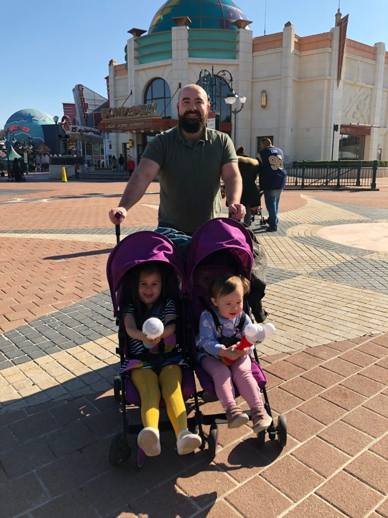 disneyland paris with toddlers double buggy
