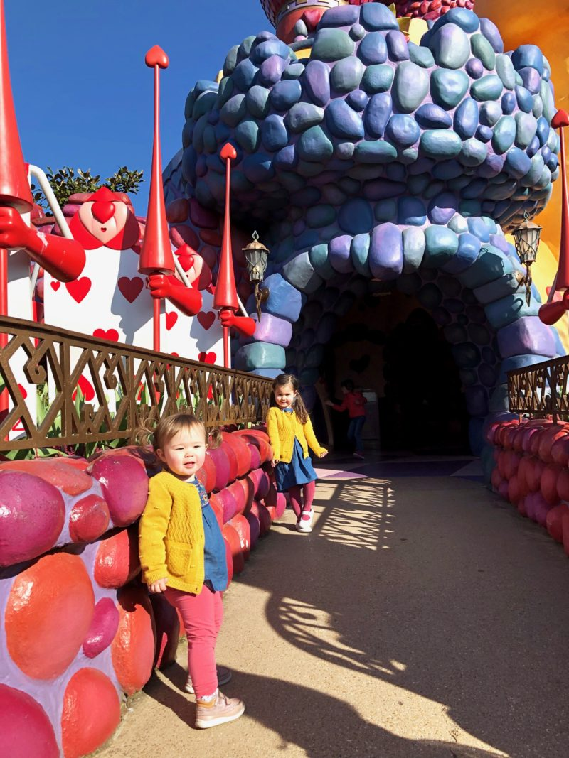 disneyland paris alice's curious labyrinth with toddlers