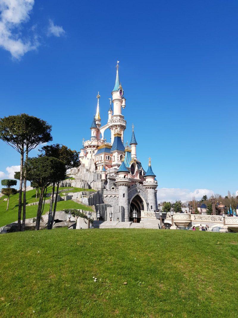 disneyland paris castle with kids toddlers