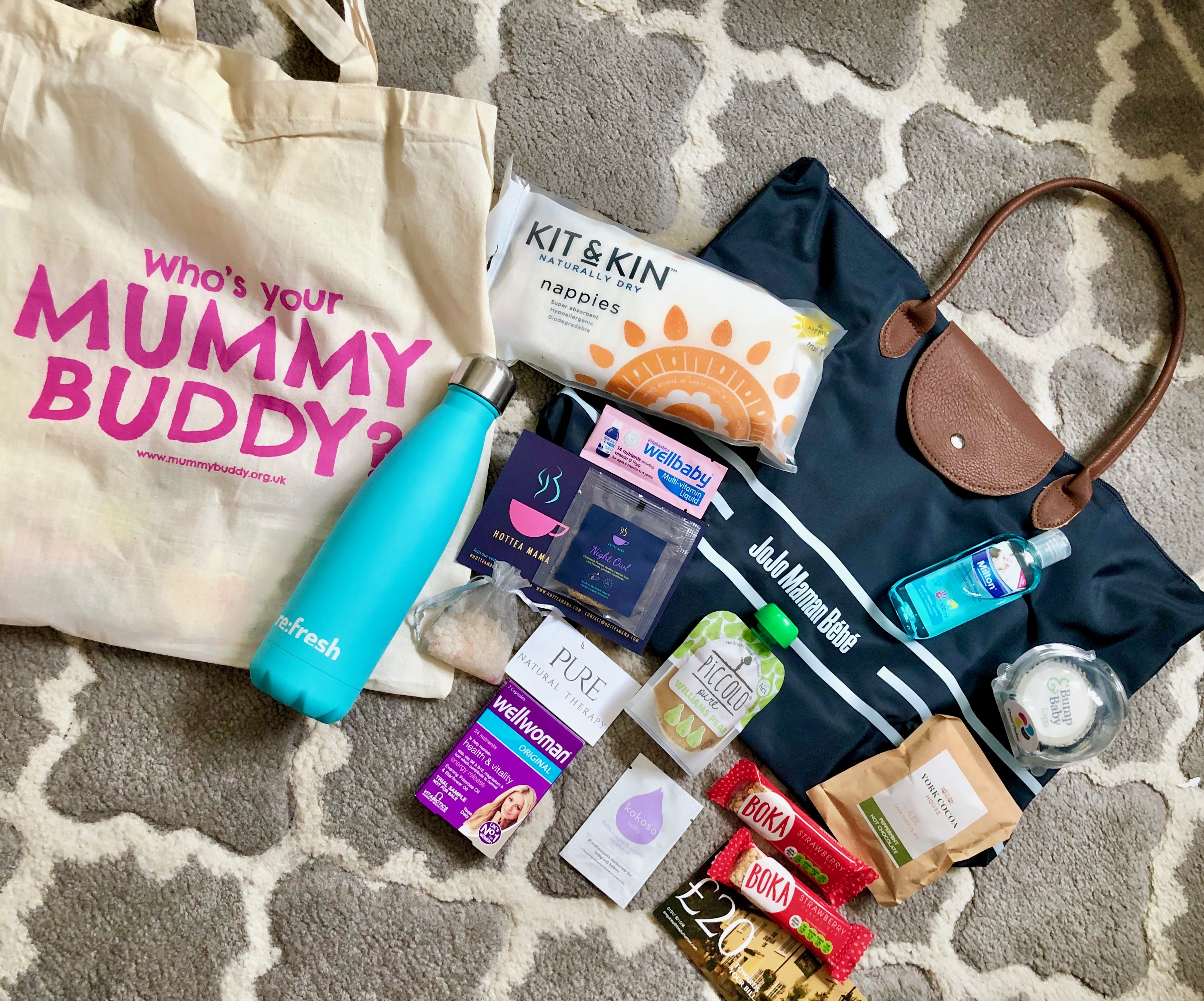 bump baby expo york goody bags