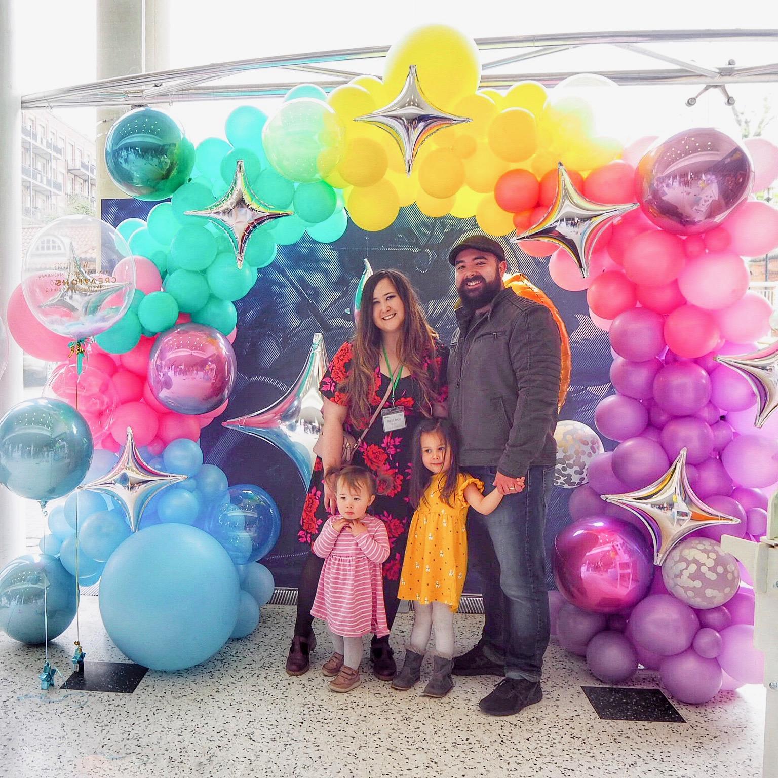bump baby expo york balloons imagination creations uk