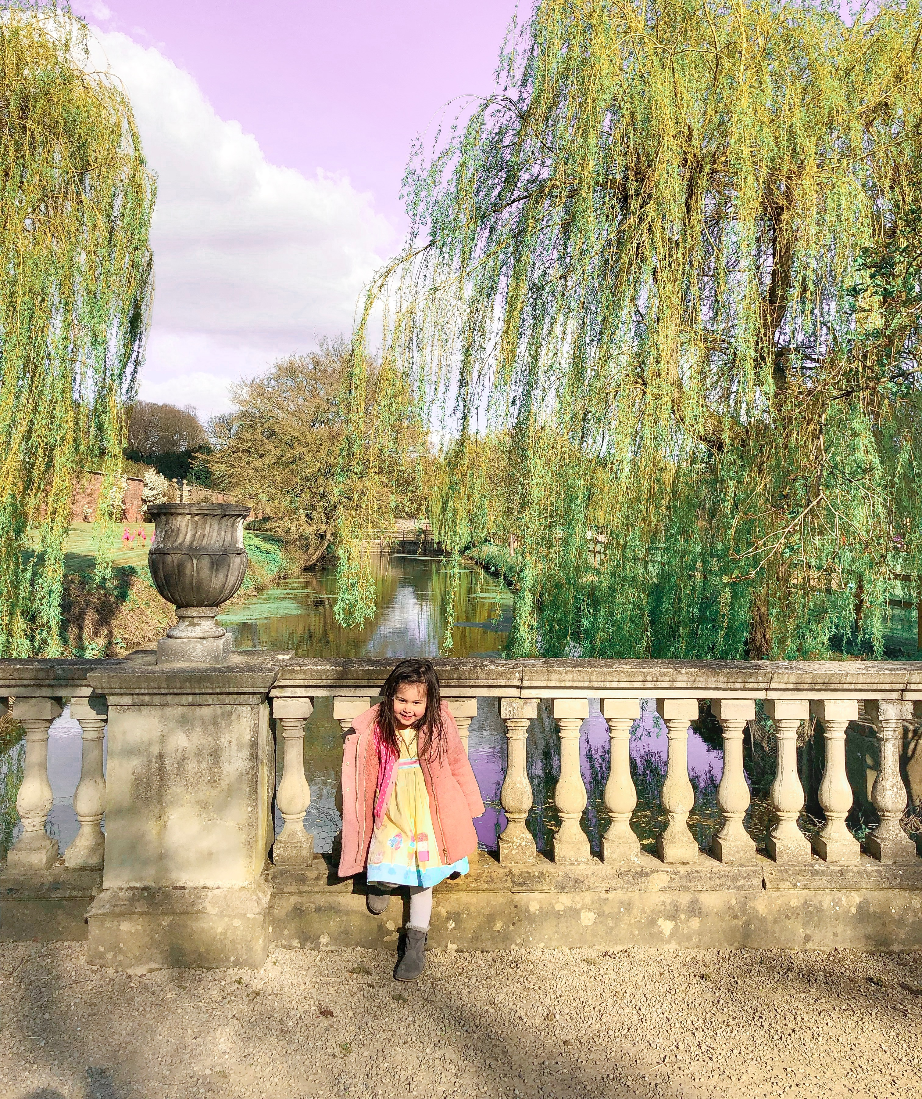 newby hall with kids toddlers