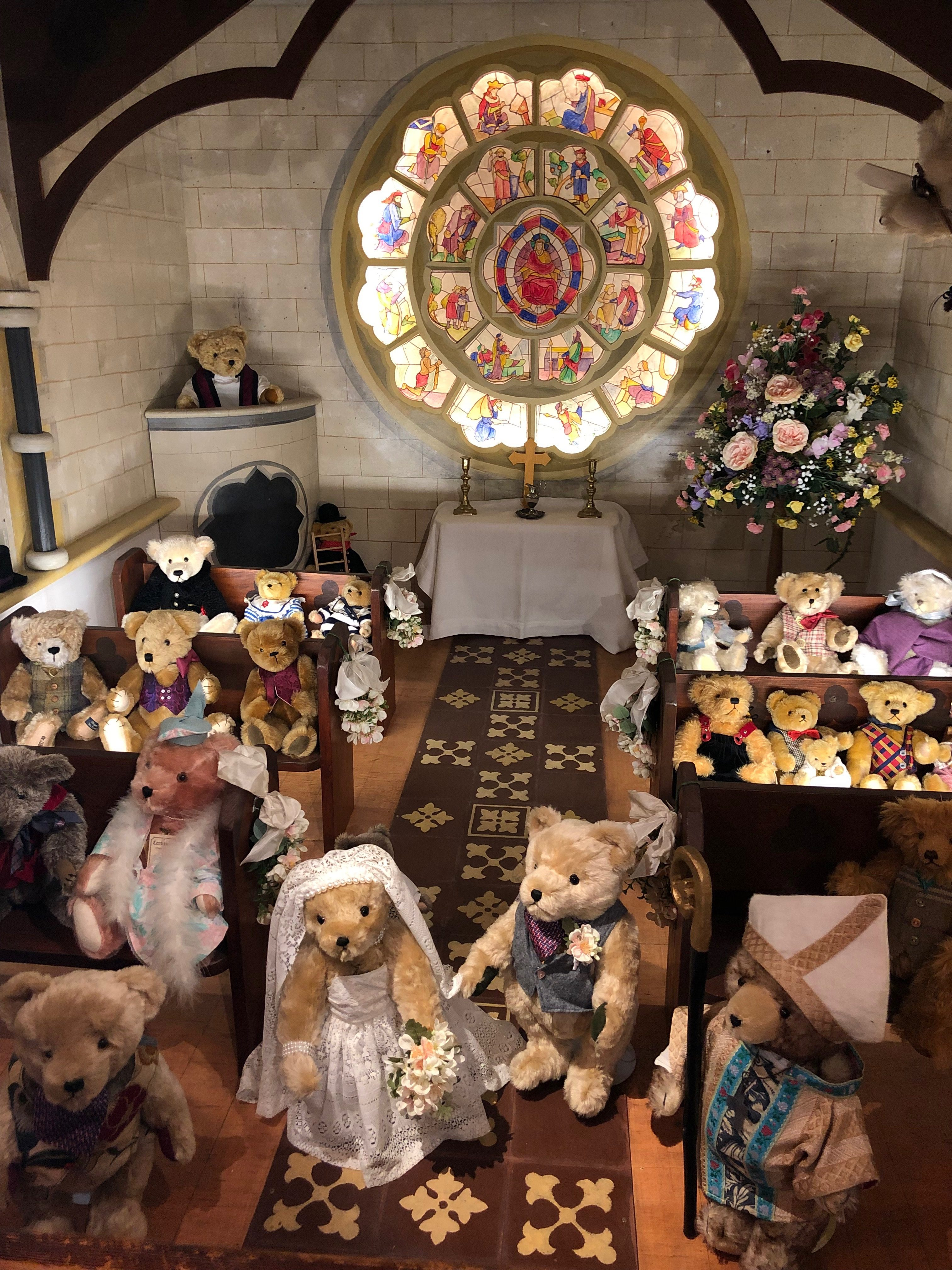 newby hall teddy bears
