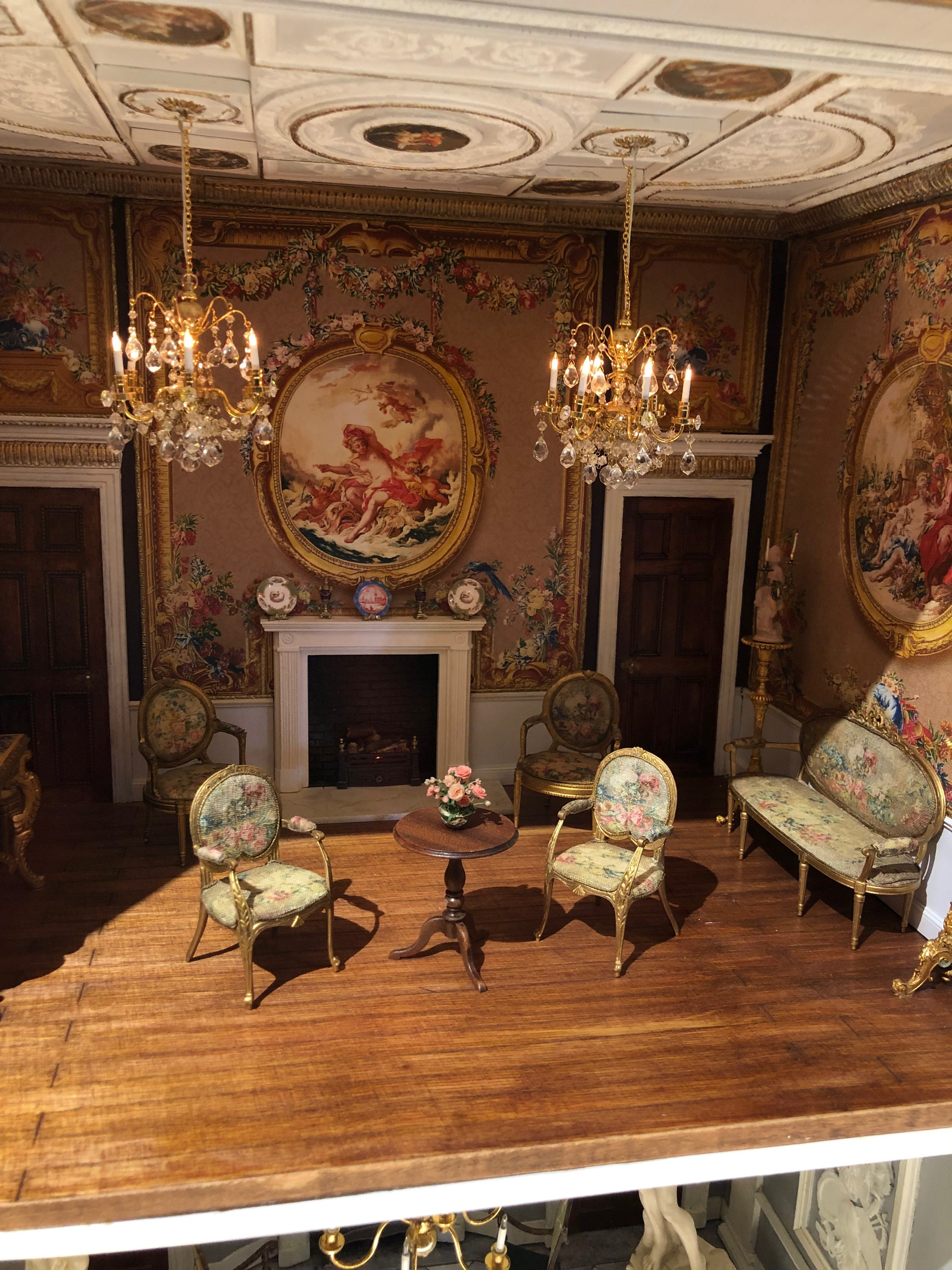 newby hall tapestries dollshouse