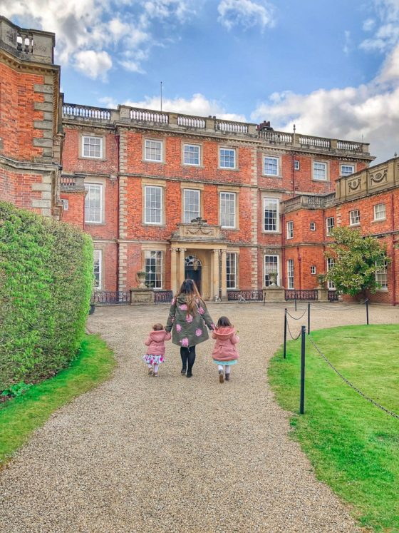 newby hall with kids