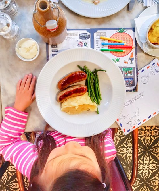 cote brasserie kids menu